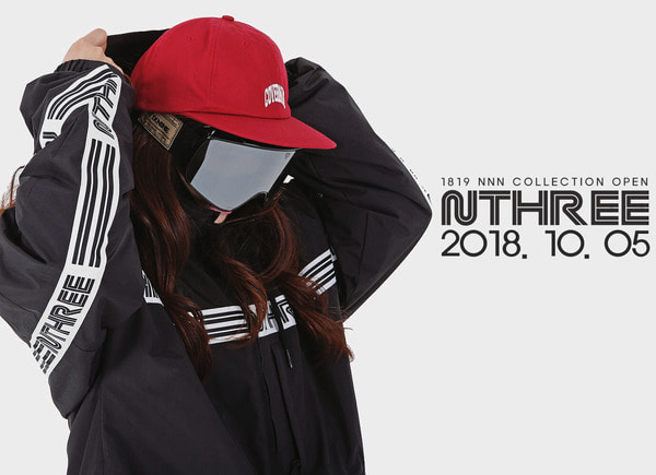 1819 NNN - NTHREE Logo Line- JACKET - COLLECTION