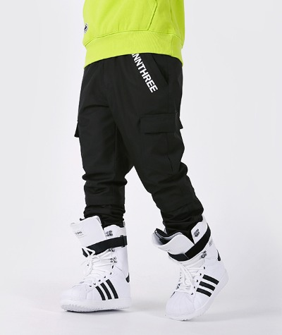 1920 NNN - Double Cargo Jogger & Slim - PANTS - 블랙