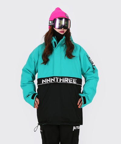 1920 NNN - Double anorak 2 - JACKET -민트+블랙