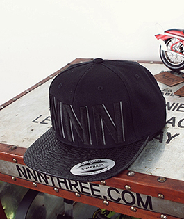 NNN Black NNN Snap Back - 블랙